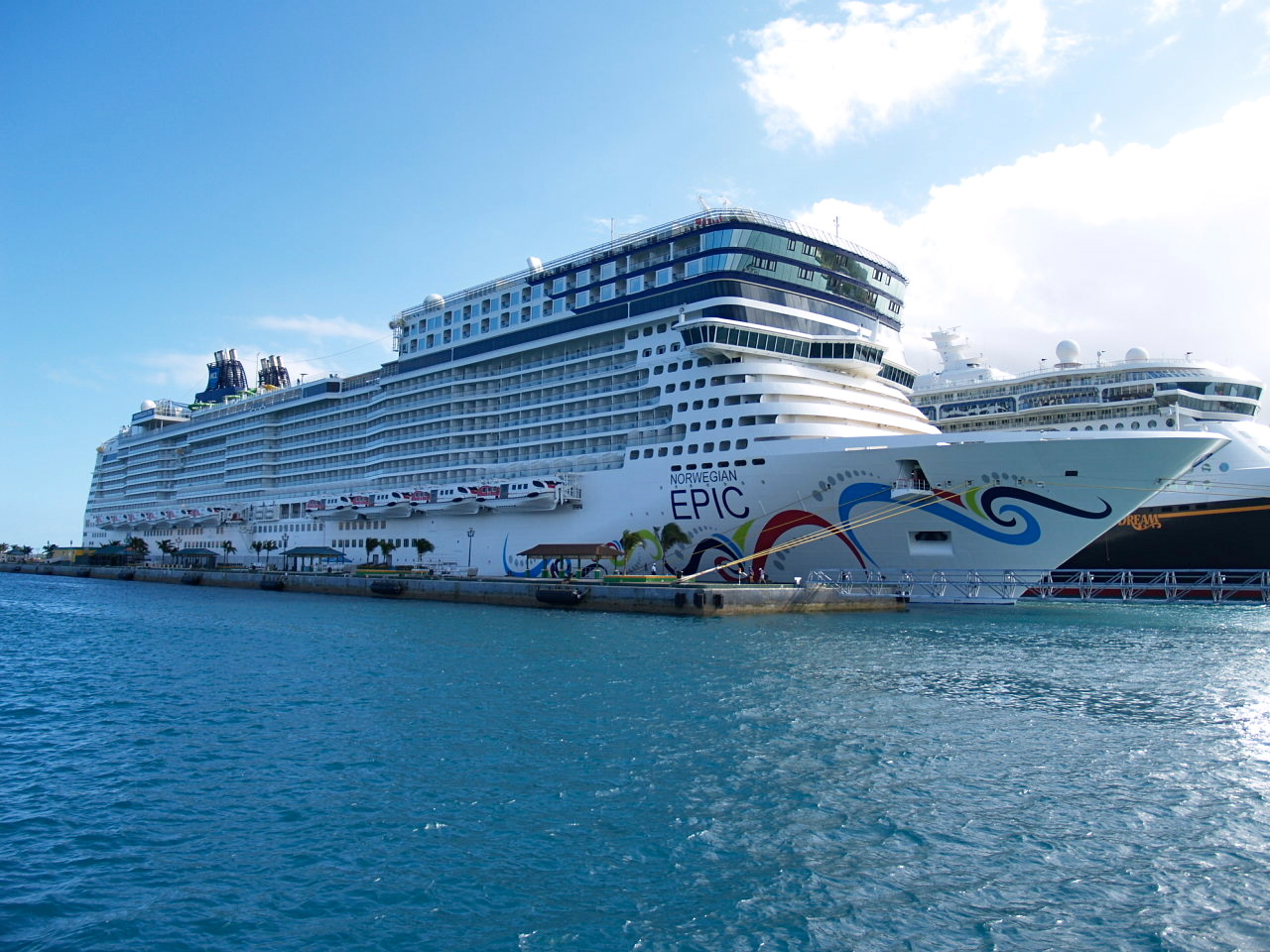 "An epic cruise on the Norwegian ""Epic"""