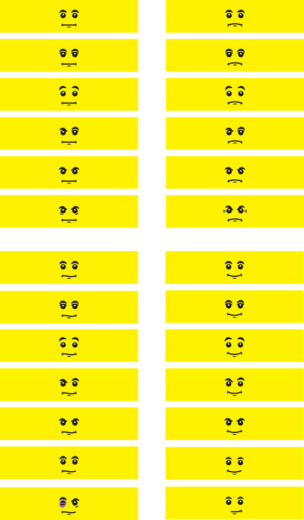 graphic relating to Lego Faces Printable identify Lego Bash! Out of Our Minds toward Yours